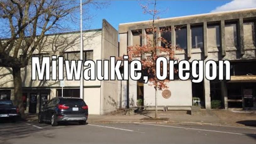 Milwaukie, Oregon 2020 (Downtown) 4k Walking Tour