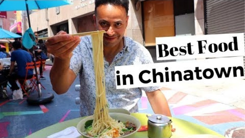 Best Chinese Food in New York City CHINATOWN - EPIC STREET FOOD TOUR - 紐約的中國菜