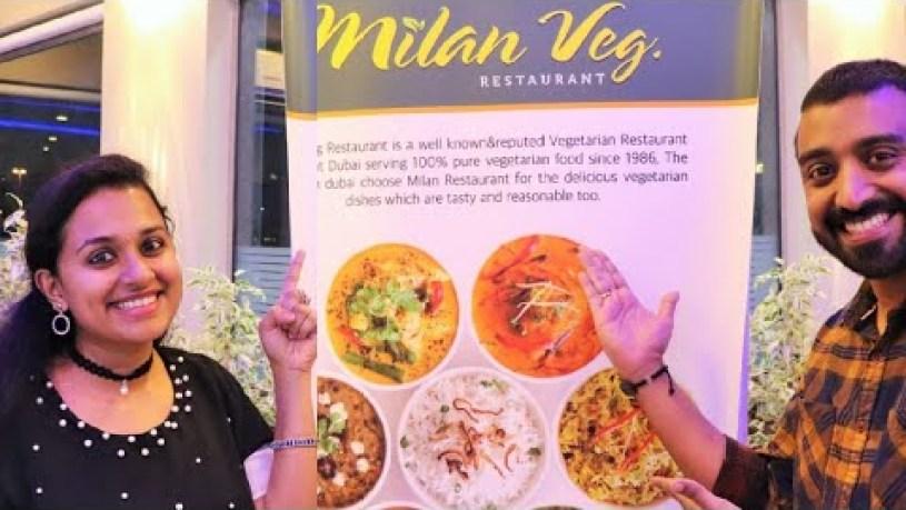 Foodies In Town- EP 3 at Milan Veg Restaurant/Food vlog with Nithin and Jiji