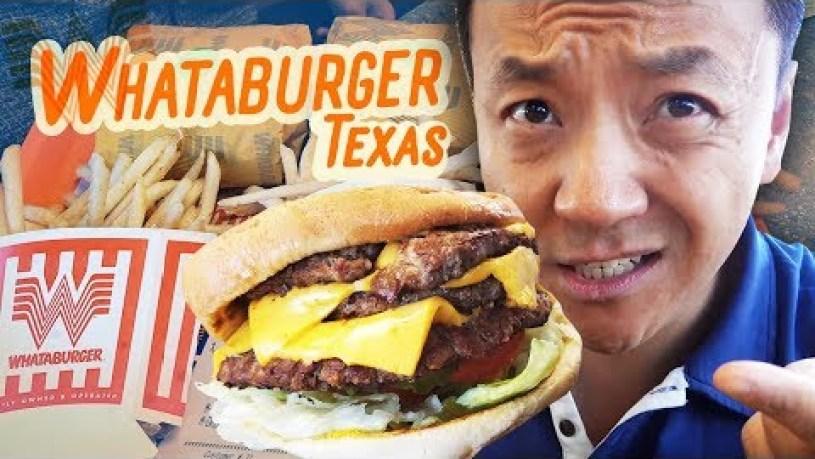 TRYING WHATABURGER & Opening KOREAN BBQ in Houston Texas