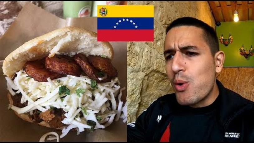 Venezuelan food vlog in Paris