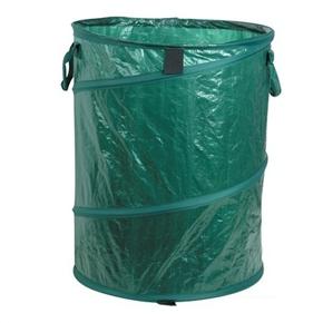 45 48cm portable folding pe plastic pop up trash can storage bin garbage can buckle barrel dark. Black Bedroom Furniture Sets. Home Design Ideas