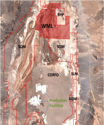 Wealth Minerals Ltd, Hottest Salar in Chile