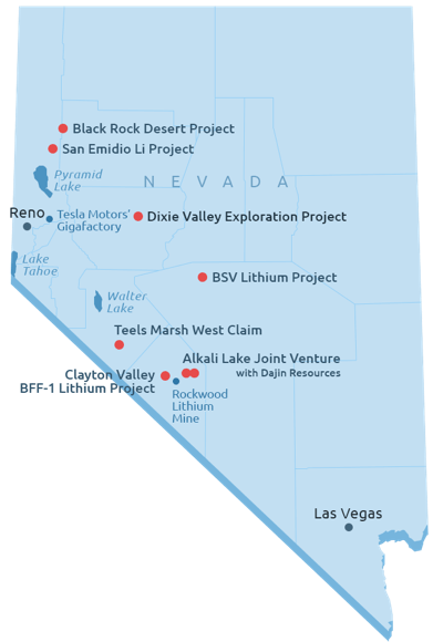 Nevada Energy Metals Creating Li Industry Buzz