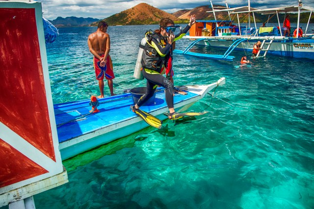 Diving in Coron, Philippines, Travel