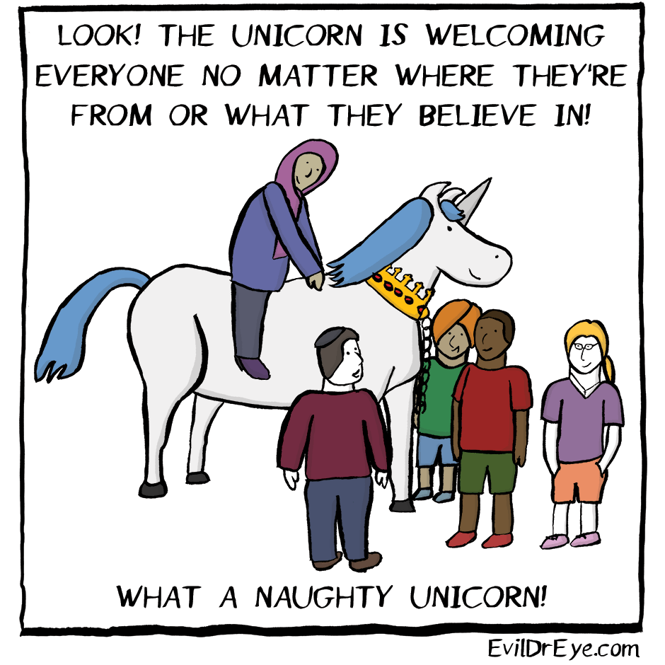 Naughty Unicorn – Everyone