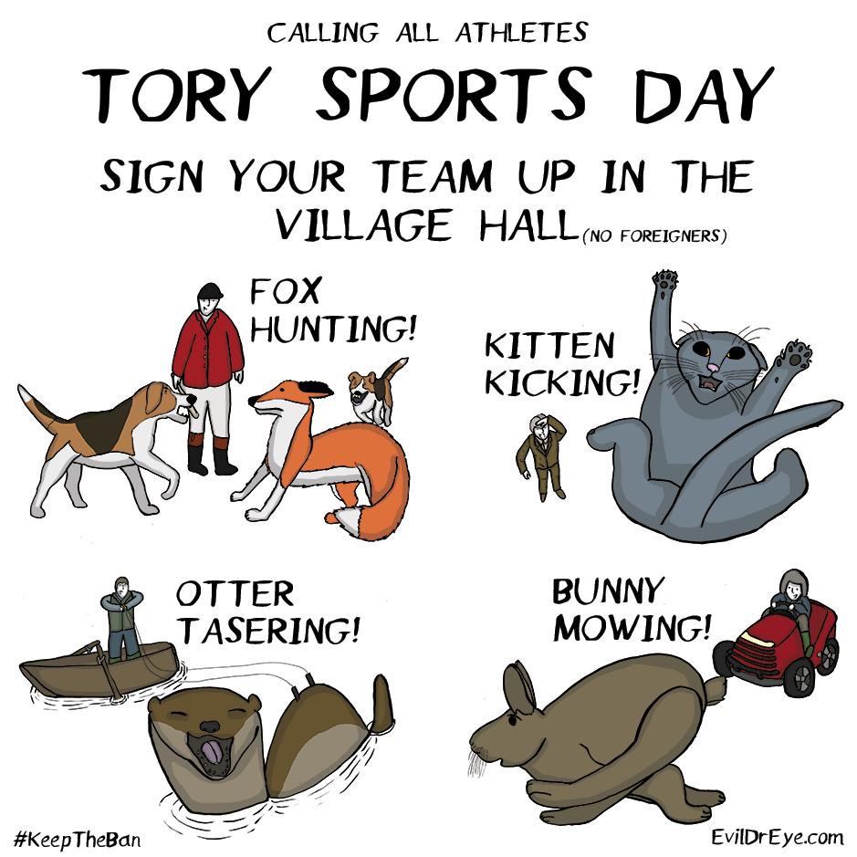 Tory Sports Day