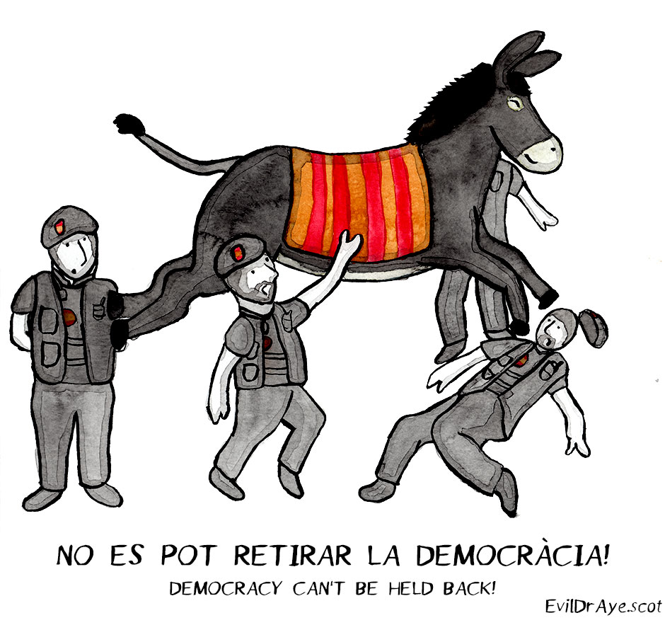 Naughty Donkey – Democracy