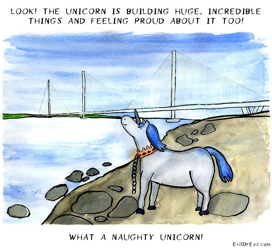 Naughty Unicorn – Building