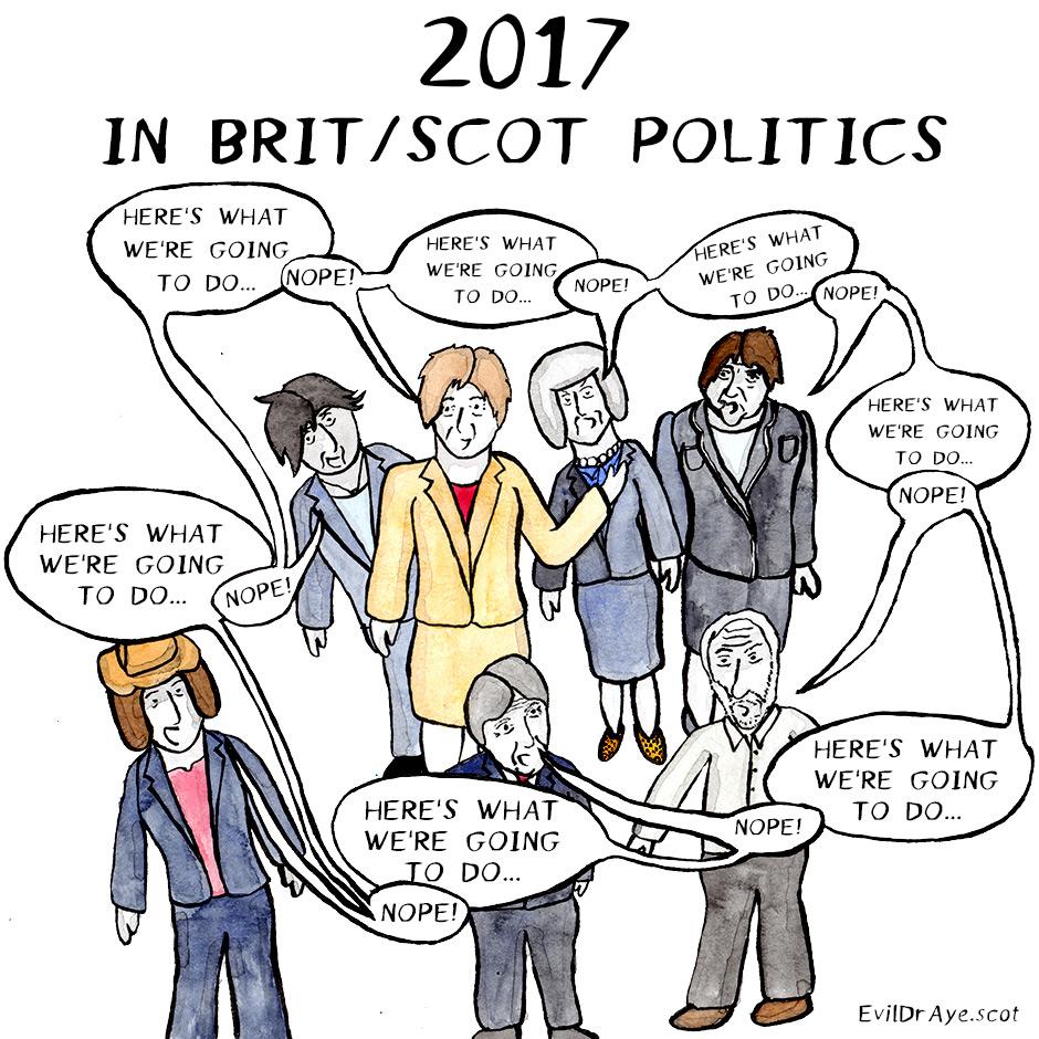 2017 in Brit/Scot Politics