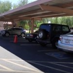 Parking Lot Damaged Bumper