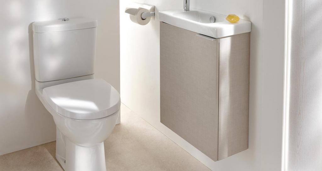 туалет с умывальником