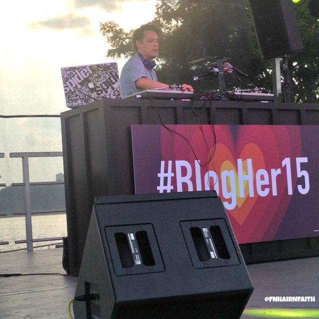 DJ Spider at Blogher15