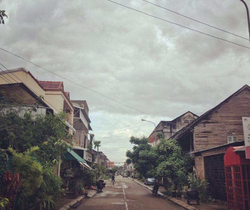 Саваннакхет, Лаос, день первый