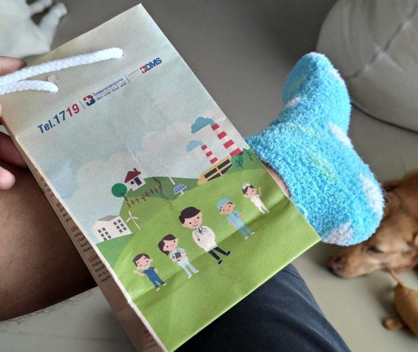 Сломал палец на ноге. Заплатил 5000 батов за лечение в Таиланде