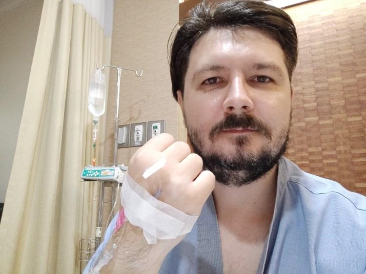 Попал в Бангкок Паттайя госпиталь. Наверное, ночь буду спать здесь