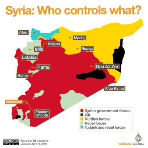 Syrien im April 2018