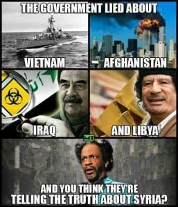 Kriegspropaganda-Lügen der US-Regierung