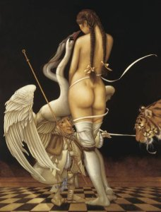 Puppetmaster, 1985, Michael Parkes