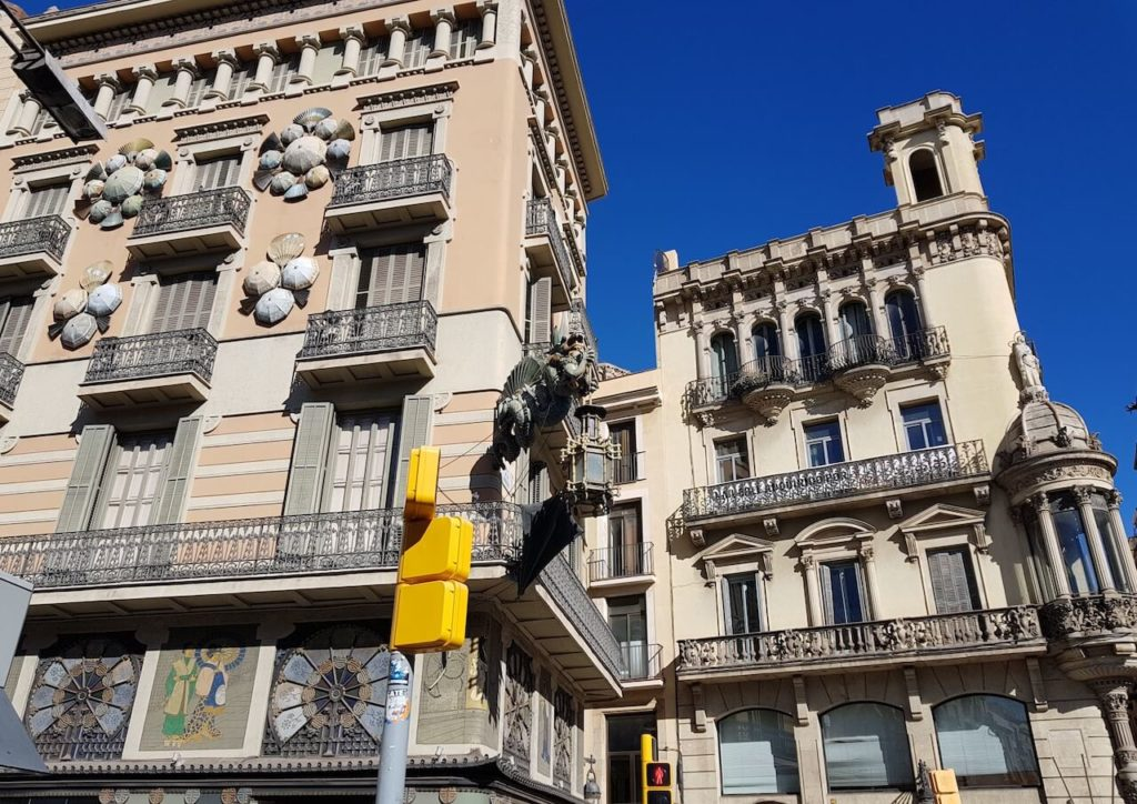 Boulevard La Rambla, Barselona