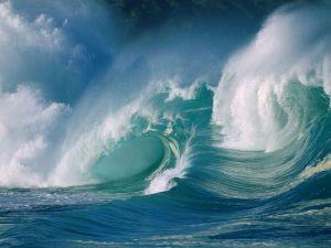 Be like a wave
