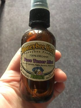 Honeybee facial toner