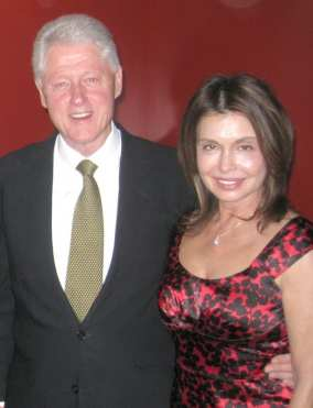 Irene & Bill Clinton