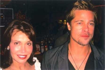 Irene & Brad Pitt