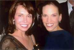 Irene & Hillary Swank