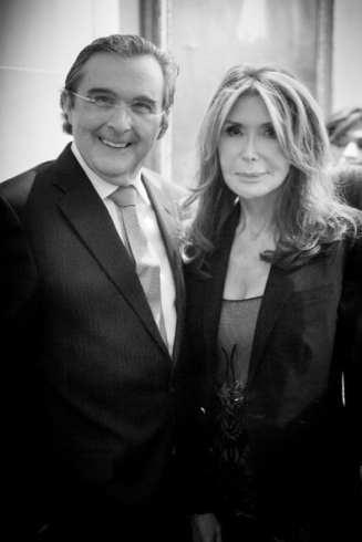 Bill Sclight & Cheri Kaufman at Fashion Party