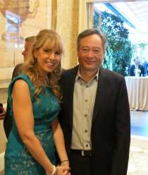 Ang Lee and Friend