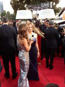 Jodie Foster on the Carpet