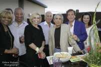 LeAnita Ragland-Brooks, Jerry White, Joyce Selander, Arny Granat, Walter Jacobson, Bill Marovitz, and Irena Kaiser