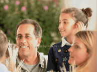 Jerry Seinfeld and daughter Sascha
