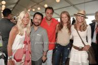 Libby Edelman, Jesse Edelman, Sailor Brinkley and Christy Brinkley