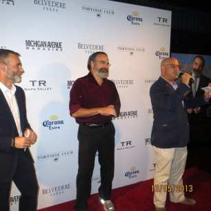 JP Anderson, Mandy Patinkin and Dan Uslan