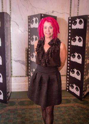 Lana Wachowski, Director of the Matrix, was in attendance at opening night