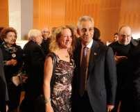 Patti White (Chicago Cares) and Mayor Rahm Emanuel