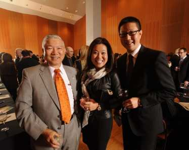 Raymond Chin (RM Chin & Associates), Christine Chunning, Z.J. Tong (Chicago Chinese Cultural Institute)