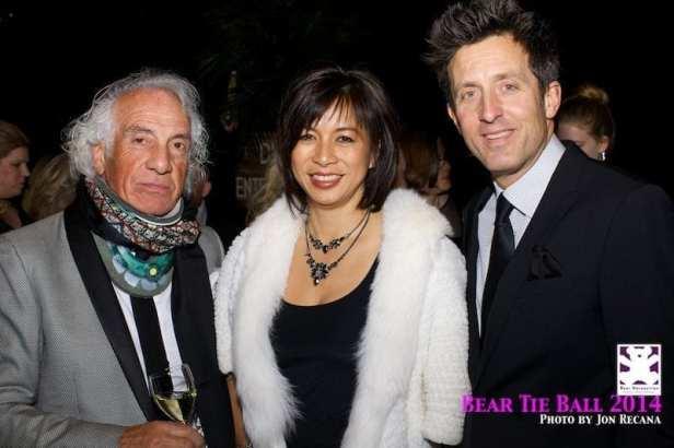 Mario Tricoci, Jessica & Larry Silvestri