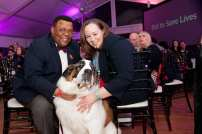 NBC's Art Norman and wife Terri Norman with their dog Bella I Photo by Sparenga Photography