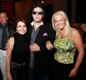 Irene Michaels, Gene Simmons, and Sheila Lamb