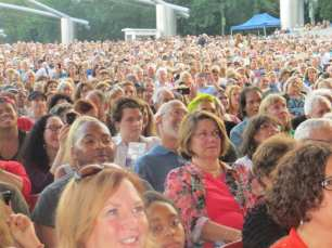 Thousands in Attendance at Millennium Park