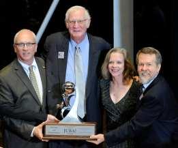 Brett Batterson, Auditorium Theatre - Charles Gardner and Patti Eylar, JUBA Award Winners - Lan