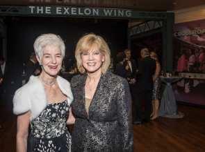 Liz Stiffel and Janet Davies