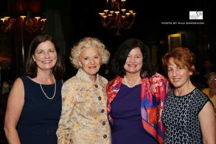 Sheila McGinn Dorman, Justice Anne Burke, Nancy McCaskey, Char Rivette