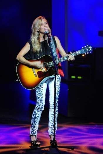 Sheryl Crow performing