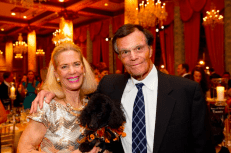 Barbara & Richard Rinella with dog Spencer