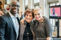Sunny Akhigbe, Diane Bridges and Valerie Madvek | Photo Gabi