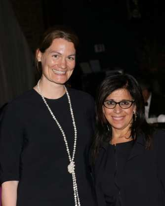 Rachel Hermes and Maria Pinto